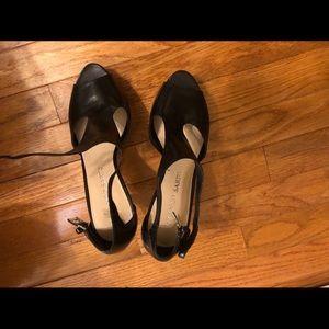 Brand new Franco Sarto black shoes 7.5 medium